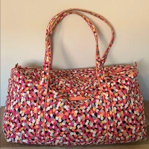 VERA BRADLEY Duffle Bag Pixie Confetti